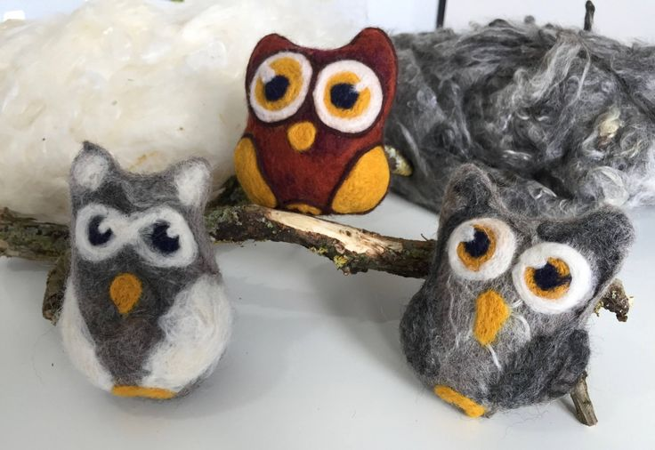 A personal favourite from my Etsy shop https://www.etsy.com/listing/528589813/felted-owl-sensory-rattle-toy-made-of