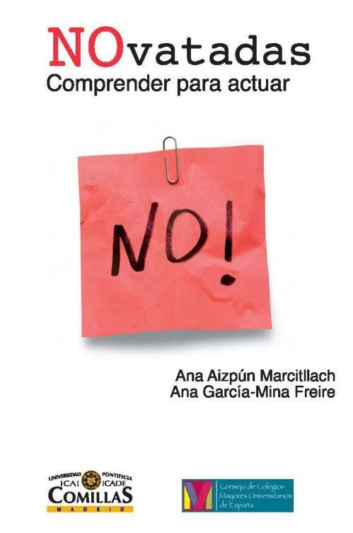 NOvatadas : comprender para actuar / Ana Aizpún Marcitllach      y Ana García-Mina Freire. -- 1ª ed., 1ª reimp. -- Madrid :      Universidad Pontificia Comillas : Consejo de Colegios Mayores      Universitarios de España, 2013 http://absysnetweb.bbtk.ull.es/cgi-bin/abnetopac01?TITN=536984