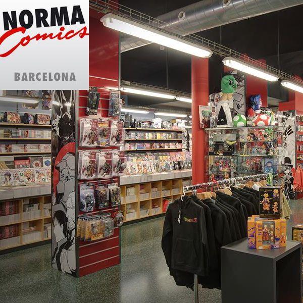 En norma cómics en Barcelona encontrarás todos nuestros productos