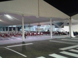 Rental Tenda Roder Dekorasi Event AEON MALL BSD   Amira Tent