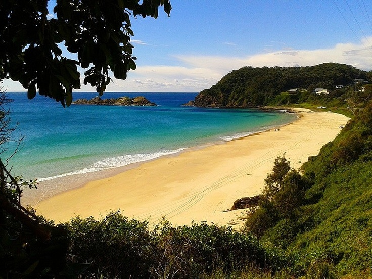 Seal Rocks, NSW, Australia - one of our #Hooroo #SecretSpots. A quiet fishing village with beautiful beaches, snorkelling, boating, fishing, surfing, and camping.