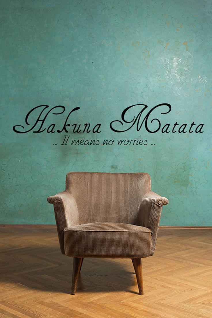 17 meilleures id es propos de hakuna matata sur pinterest citations de roi lion et citations. Black Bedroom Furniture Sets. Home Design Ideas