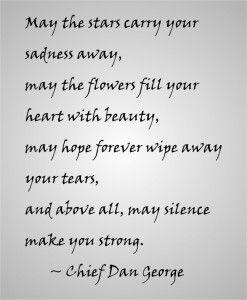 Words of condolence - Haute Note Blog