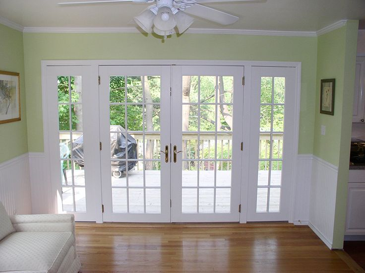 17 best ideas about exterior french patio doors on for White sliding french doors