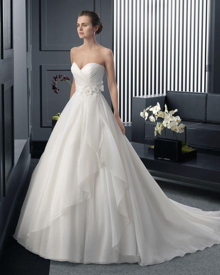 #Dathybridal クラシック ハートカット アウトドア-ガーデン ボールガウン 花嫁のドレス ウェディングドレス Hro0165