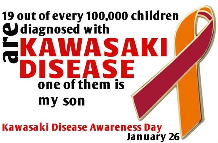 My son Nicholas had Kawasaki Disease Nov. 2000
