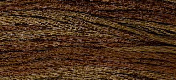 1233 Cocoa  Weeks Dye Works 6 Strand Floss by FiddlestixDesign, $2.30