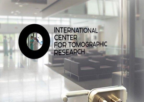 Фархат Кучкаров / Денис Башев Айдентика Международного Центра Томографических Исследований, сделанный в рамках агентства «Tomatdesign»