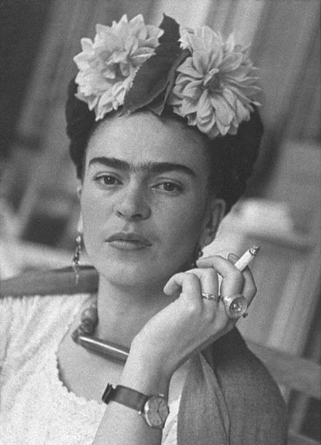 """""""Heute Ist immer noch (Today is like always).""""  ― Frida Kahlo"""