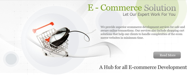 We provide superior ecommerce development services for safe and secure online transactions.