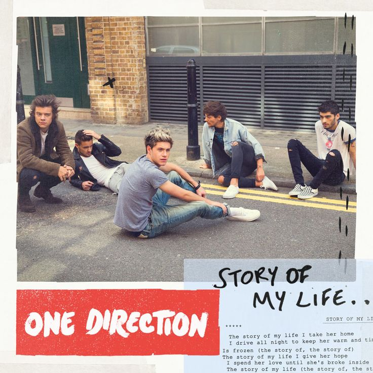 Caratula Frontal de One Direction - Story Of My Life (Cd Single)