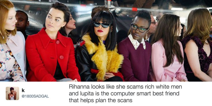 Attention: This Lupita Nyong'o and Rihanna Movie Needs to Happen Immediately