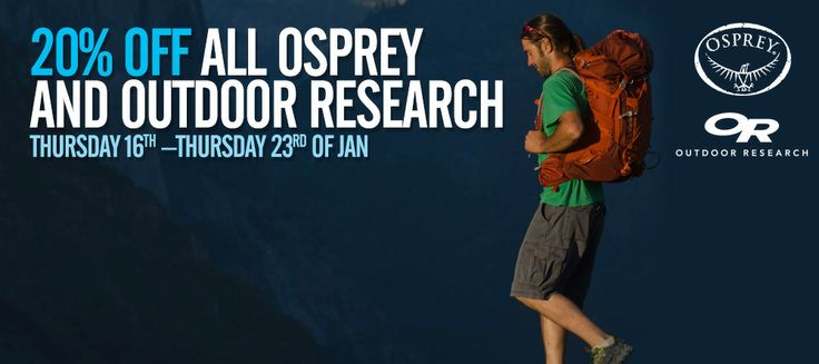 For all Osprey: http://www.mainpeak.com.au/brands/osprey/  For all OR: http://www.mainpeak.com.au/brands/outdoor-research/