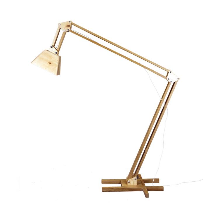 Wooden Floor Lamp XL