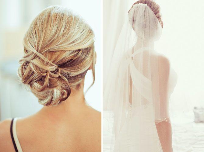 Gorgeous hair with veil