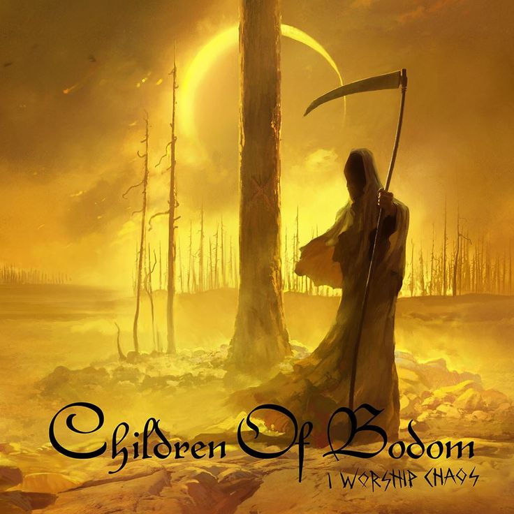Children Of Bodom - I Worship Chaos // Death Melo (2015)
