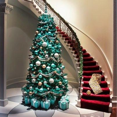 Tiffany Blue Christmas Tree