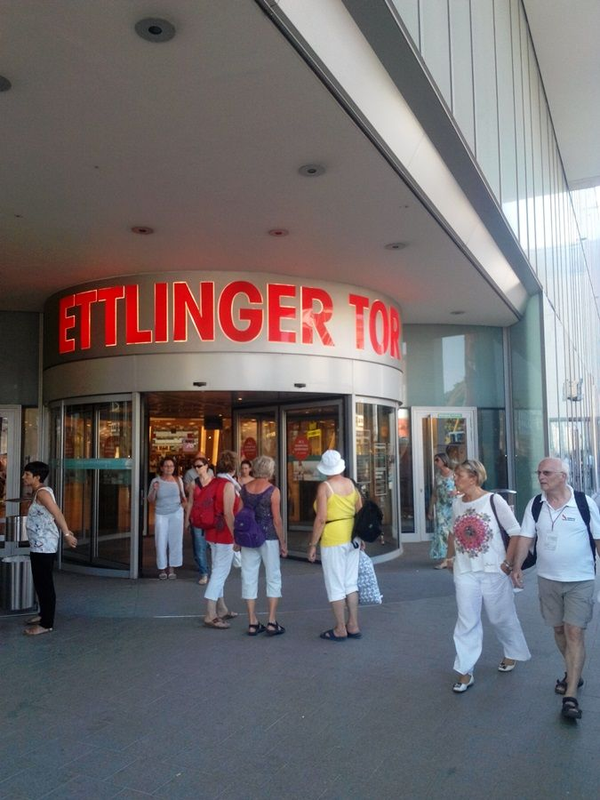 Ettlinger Tor Is One Of The Shopping Centers In Karlsruhe Perfect