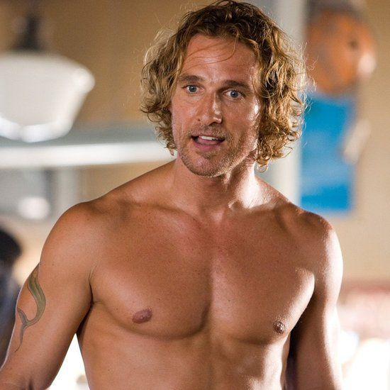 Matthew McConaughey Shirtless Pictures in Movies                                                                                                                                                                                 More