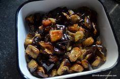 Vinete la cuptor cu mujdei de usturoi (1)