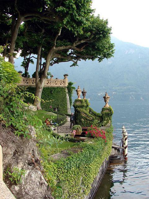 Padme's balcony, Lake Como, Italy
