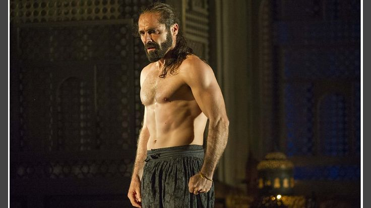 Franck Saurel as Pasha Selim in Mozart's Die Entführung aus dem Serail, Glyndebourne 2015