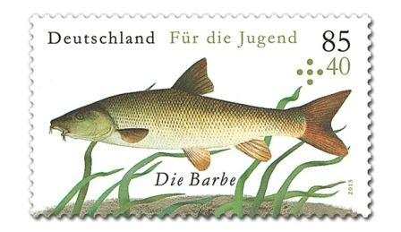 Briefmarke Barbe Reihe für die Jugend