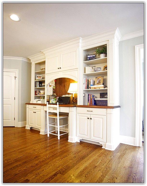 desk-made-from-kitchen-cabinets.jpg (613×776) | kitchen ...