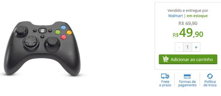 Controle Dazz Dual Shock para PC << R$ 4990 >>
