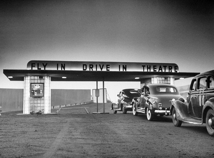 fly in drive in movie theatre in asbury park nj 1949 on june 3. Cars Review. Best American Auto & Cars Review