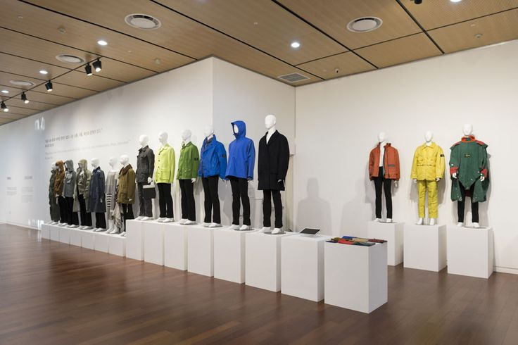 """All garment by Massimo Osti archive that is possible see at the event """"Craftsmen designers makers"""""""