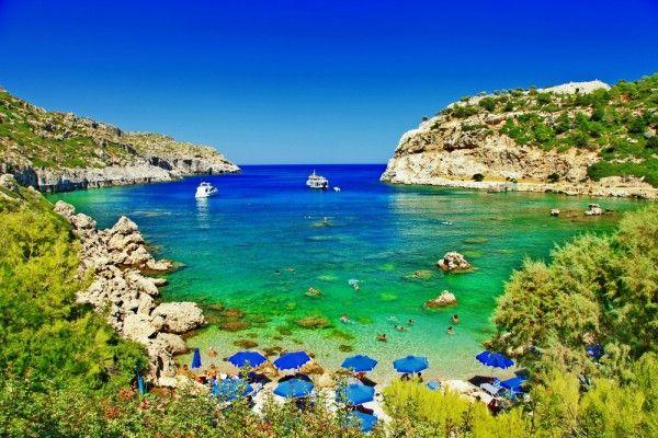 #Rhodes #Rhodos #Greece #Griechenland #Island #Insel #Mediterranean #Mittelmeer #Bucht #Bay #Water #Blue #Green
