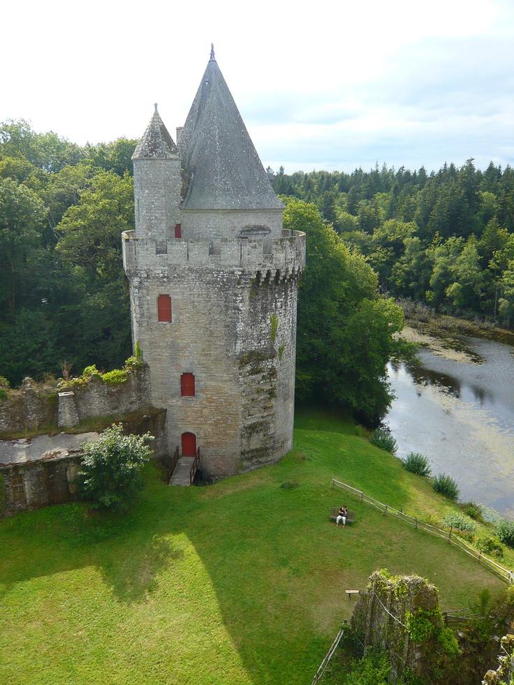 Morbihan - Elven - Forteresse de Largoët <3