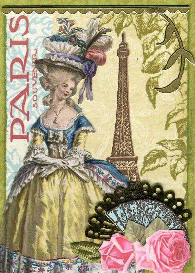 Souvenir de Paris ATC 1 by wendyofva, via Flickr