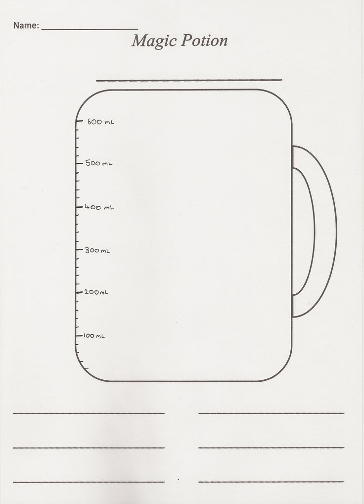 Measuring Jug Activity sheet (2)