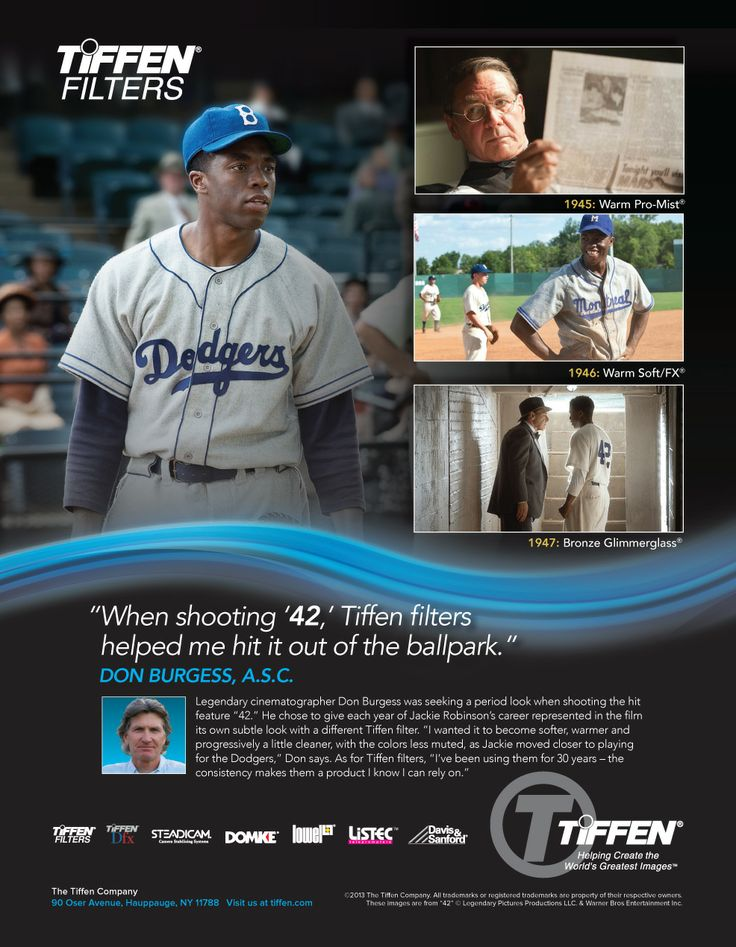 Cameron News: Testimonial campaign is home run for Tiffen filters