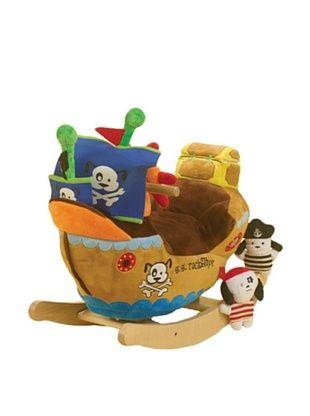 58% OFF Rockabye Ahoy Doggie Pirate Ship Rocker