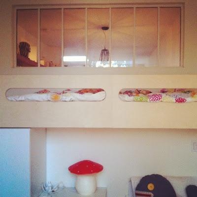 Verri re sur mesures by tipy design montr al pour les enfants de jules mon poisson bulle for Pinterest chambre enfant verriere
