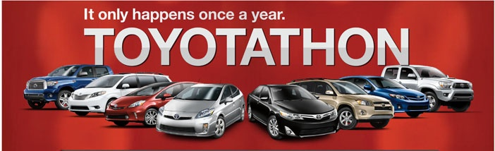 Toyota Sales Event you don't want to miss! #Toyotathon