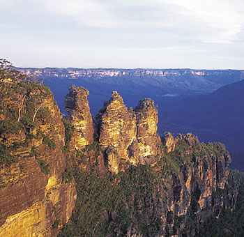 These are the Blue Mountains- located near Sydney, Australia. I will be scaling a rock face here this summer.