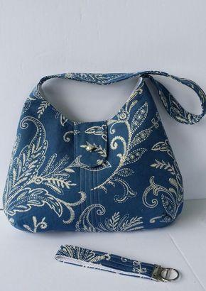 FREE PHOBE BAG TUTORIAL DIY Bag Sewing Pattern / Tutorial. More sewing project…