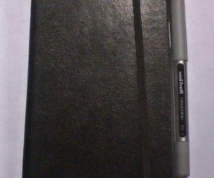 Moleskine Pen Clip Mod