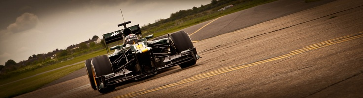 Rodolfo Gonzalez drives the CT01 at Duxford, May 2012