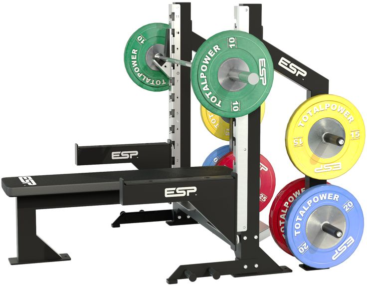 Competition Bench For Sale Part - 34: ESP Fitness Bench Press With Full Accessories - Our IPF Compliant Competition  Bench Press Has A