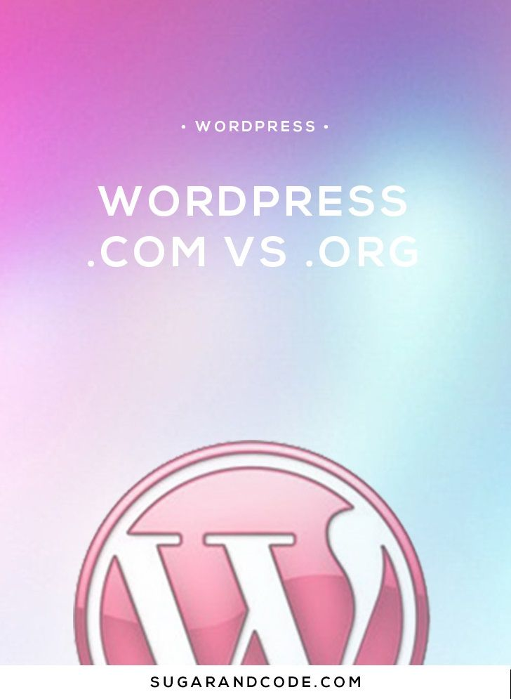 So what's really the difference between WordPress.com and WordPresss.org? Find out which version of WordPress is right for your situation?