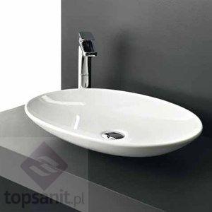 Artceram La Fontana Umywalka blatowa, kolor biały, 60 x 42 cm, LFL001 TopSanit.pl