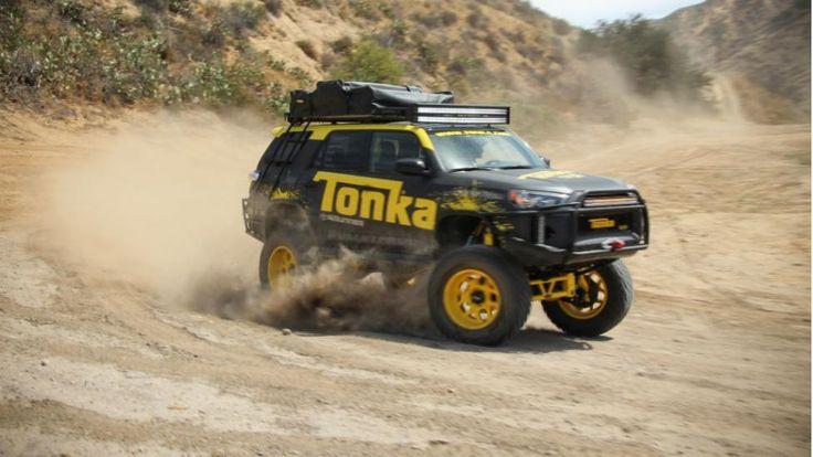 Toyota 4Runner Tonka: ¡de autito de juguete a tamaño real!