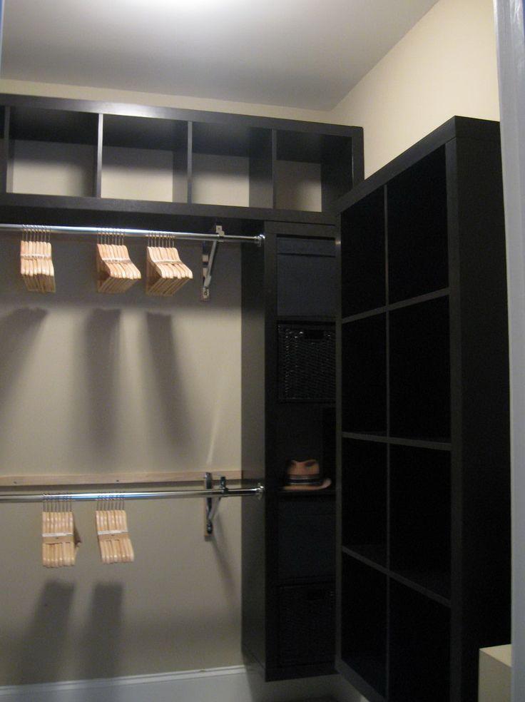 ikea closet organizer ikea closet hack closet hacks closet