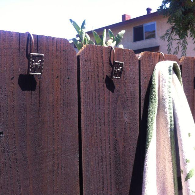 Pool Towel Sign With Hooks: Best 25+ Pool Towel Hooks Ideas On Pinterest