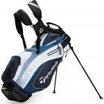 New TaylorMade Purelite Golf Stand Bag 2015 Blue/Navy/White Only 4.5 Pounds! | Golf gifts by george